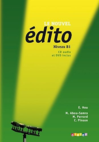 Le Nouvel Edito: Cahier B1 by Heu, Elodie, Perrard, Marion (2012) Paperback