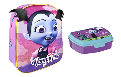 Vampirina mochila + fiambrera Vampirina