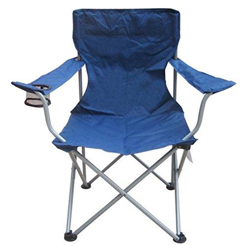 TTYY Chaise de lune Chaise pliante Extérieure / Intérieure Cour arrière Pêche Camping Plage , Blue