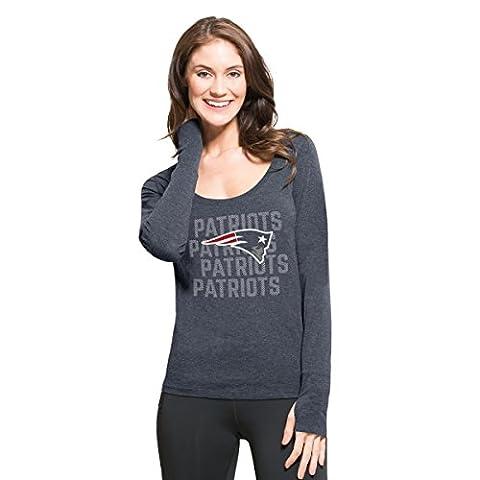NFL New England Patriots Women's '47 Forward Long Sleeve Tee,