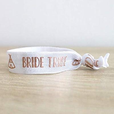 Bracelet élastique Bride Tribe - Filles EVJF - Tribut enterrement vie jeune fille