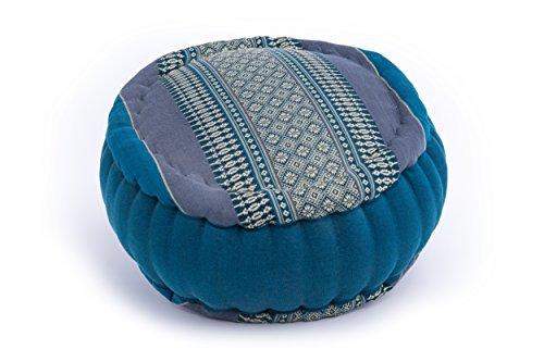 Coussin de Méditation Zafu circulaire 35x20 (bleu)