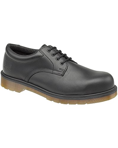 Dr Martens Mens Lace Up Safety Shoes FS57 Black Black