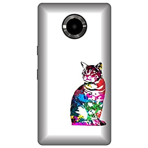Skintice Designer Back Cover with direct 3D sublimation printing for Micromax Yu Yuphoria