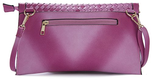 Big Handbag Shop - Borsetta senza manici donna (Grey (ST245)) Disfrutar Barato En Línea N8ddYW