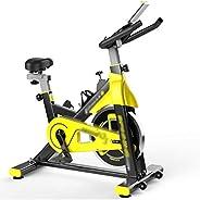 Exercise bikes Exercise bikes for home use seniors Mute Yellow Flywheel Pedal High-value Spinning Bike Home Fi