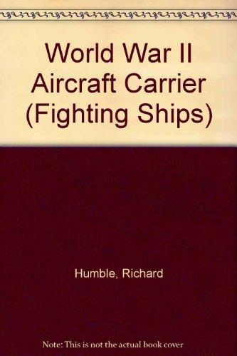 World War II aircraft carrier.