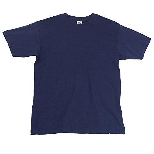 Fruit of the Loom Super Premium T-Shirt XL,Navy