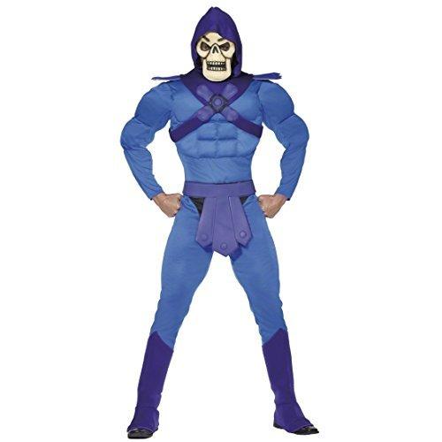 He Man Lizenz Kostüm Skeletor Karneval Halloween L 52/54