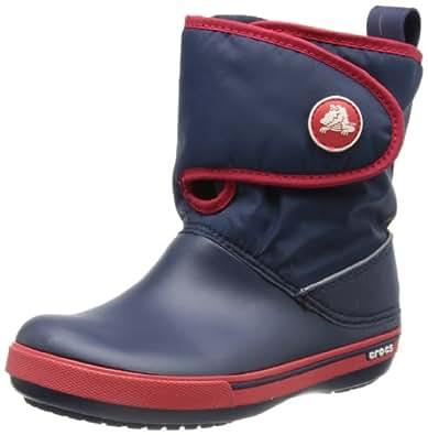 Crocs Crocband II.5 Gust, Unisex-Child Boots, Blue (Navy/Red), 6 UK Child