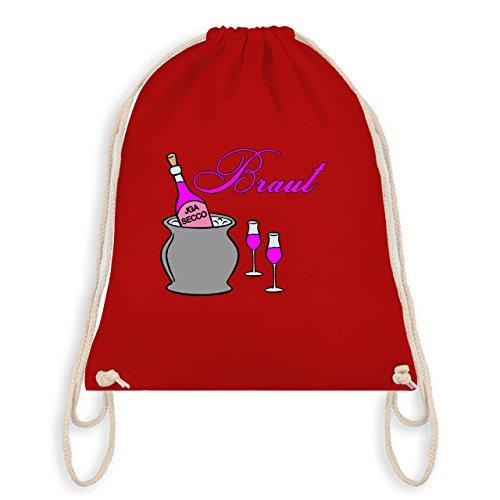 Jga Hen Party - Bridal Champagne Party - Borsa Da Palestra I Gym Bag Rossa