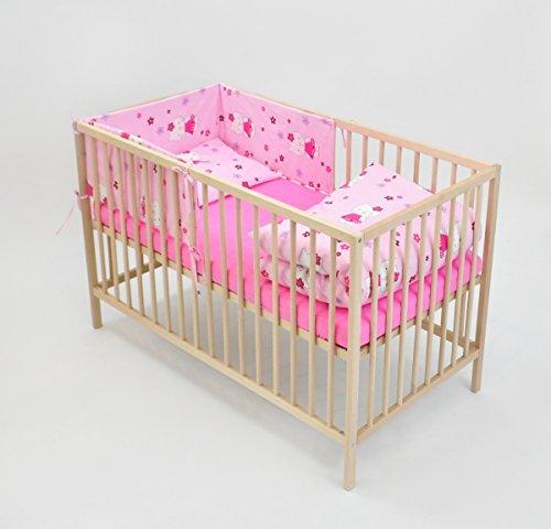 ensemble-set-complet-6-pieces-parure-de-lit-literie-pour-bebe-120x60-lit-dessin-chats-avec-fleurs-ro