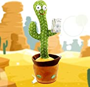 Dancing Cactus Toy, Shaking, Records, Sings & Talks to kids!, Best Selling Toy For Kids