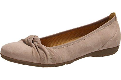 GABOR - Damen Ballerinas - Rosa Schuhe in Übergrößen Antikrosa