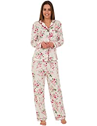 54b541d960 Fashionlabels4less Ex High Street Brand Ladies Floral Cotton Rich Pyjama  Pjs Long Sleeve RRP £35
