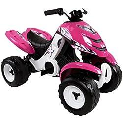 Smoby Quad XPower - Quad, color rosa (33049)