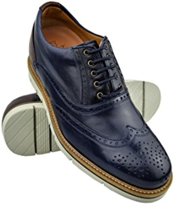 Zerimar Schuhe für Männer Erhöhen Sie 7 cm   Herrenschuhe mit Erhöhundgen   Schuhe die Ihre Höhe Erhöhen