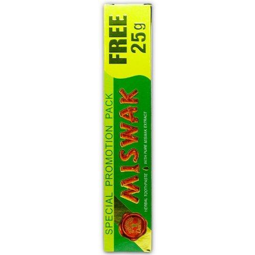 Dabur Miswak Herbal Toothpaste (Kräuterzahncreme mit reinem Miswakextrakt)
