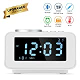 Réveil intelligent multifonctions horloge numérique FM horloges Bluetooth...
