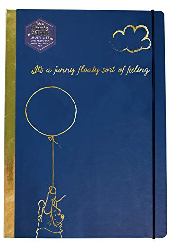Half Moon Design (Disney: Winnie The Pooh - Happy A4 Stationery Notebook (Quaderno) Half Moon)