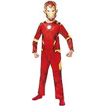 Rubie's 640829S Marvel Avengers Iron Man Classic Child Costume, Boys, 3-4 years