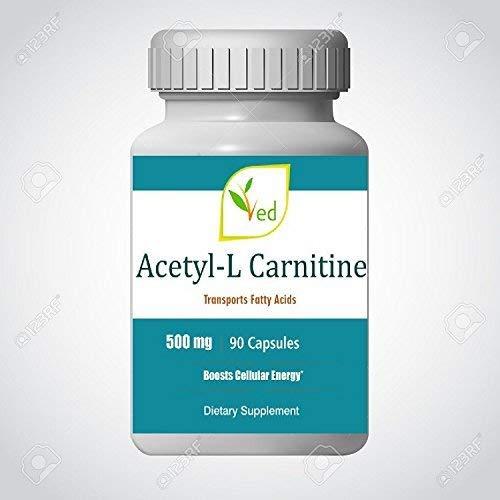 Acetyl L-Carnitin 500 mg, 90 V Kapseln (Doppelte Stärke Kapseln 90)
