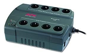APC Back-UPS ES 400 - Unterbrechungsfreie Stromversorgung 400VA - BE400-GR - 8 Schuko Ausgänge - Überspannungsschutz