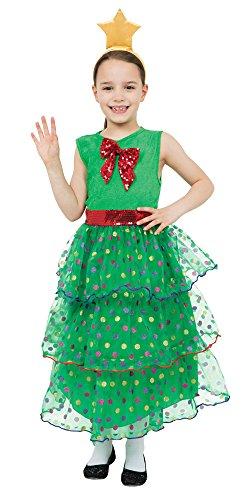 Bristol novità albero di Natale costume da Girlkid