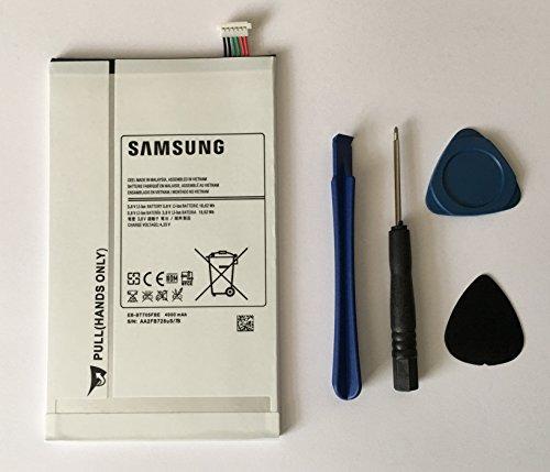 Ersatzakku für Samsung Galaxy Tab S 21,3cm Tablet, SM-T700/SM-T705, 4900mAh 18.62WH, 3,8Volt Li-Ion interner Akku + Freie Öffnung Tools UK