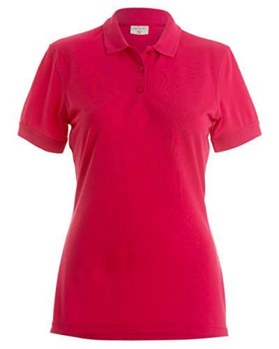 Kustom Kit - Polo - Femme Rouge