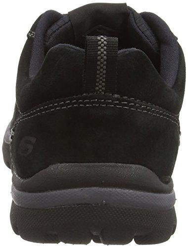 Skechers - Segment Amson, Sneakers da uomo Nero (Black (Black BLK))