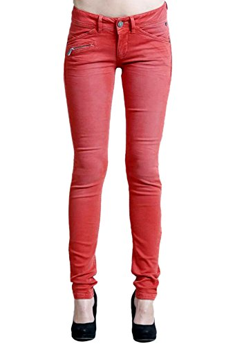 Freeman T. Porter Damen Hose Coralie New Magic Color Orange (Ketchup F830)
