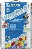 Mapei ULTRALITE S1 Leichtflexkleber Grau 15kg zementärer, standfester 1-K-Leichtklebemörtel mit verbesserter Haftung, hoher Verformbarkeit