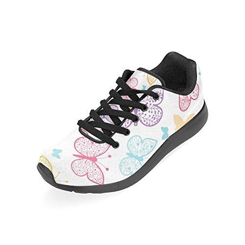 Zenzzle Running Chaussures Femme Noir Noir Color6