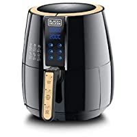 Black+Decker 4 Liter Digital Air Fryer Aerofry, Black - Af400-B5