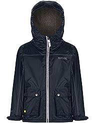 Regatta niños Malham chaqueta impermeable para mujer, Infantil, color azul marino, tamaño Size 3 - 4