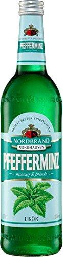 Nordbrand Norhausen Pfefferminz Likör 18 Vol. (1 x 0.7 l)