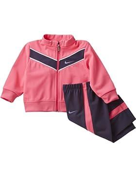 Nike T45 Victory T Warm Up Inf - Chándal para niños unisex de 6-9 meses, color rojo