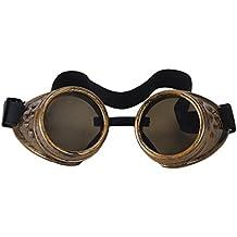 Punk Stil Schutzbrillen Schweisserbrille Autogen Schleifbrille schraubbar Brille