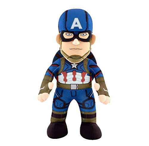 Captain America Civil War - Captain America Plush - Marvel - 25cm 10""