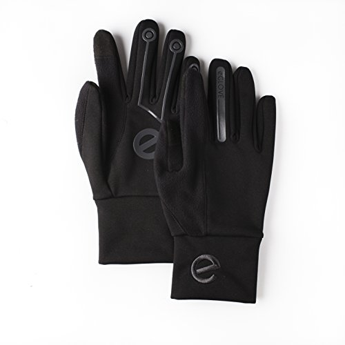 eGlove XTREME Black / Black (Medium) Touchscreen Smartphone Gloves Xtreme Mobile