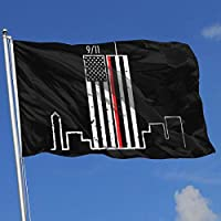 OLYIE Outdoor Flags 911 Never Forget 3X5 Ft Flag for Outdoor Indoor Home Decor Sports Fan Football Basketball Baseball Hockey