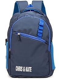 Chris & Kate Spacious School Bag | College Bag | Casual Backpack (28 litre)(CKB_116RB )