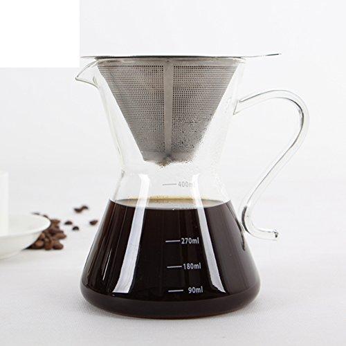 vidrio estilo americano Transparencia Cafeteras-A