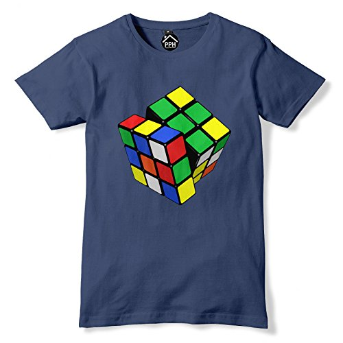 Rubik's Cube T-shirt for Men or Women, 5 Colours