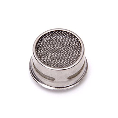 Jooks Replacement Home Kitchen Faucet Filter Diffuser Sprayer Water Tap Aerators Bathroom Tap Strainer Filter Silver
