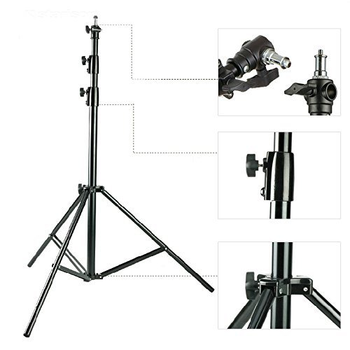 Heavy Duty Light Studio stand 300CM 10ft cuscino d'aria di alta qualità 3 metri di larghezza