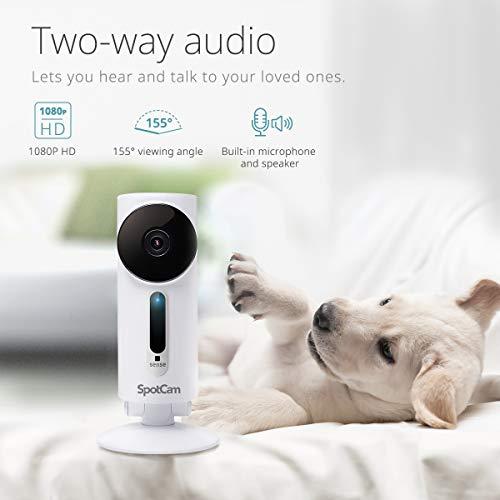 SpotCam 1080P Full-HD IP-Kamera – WLAN-Überwachungskamera Indoor mit Smart Home Integration - 2