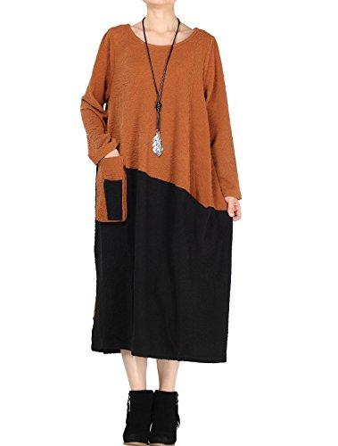 MatchLife -  Vestito  - Vestito - Donna Arancione