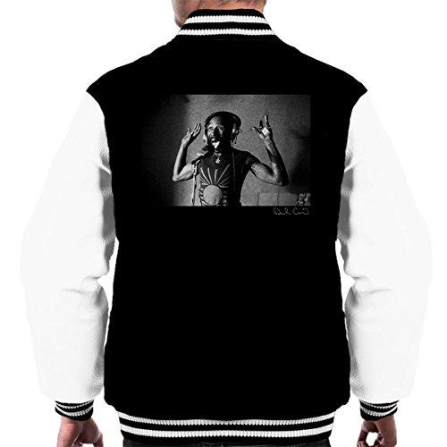 Lee Scratch Perry Jungle Lion Studio 1980 Men's Varsity Jacket Black/White